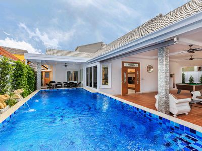 Photo for New Private 5 Bedrooms Pool Villa with Pool&Sauna
