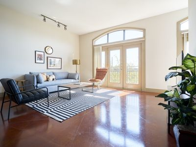 Photo for Sonder | Ballpark Lofts | Bright 1BR + Pool