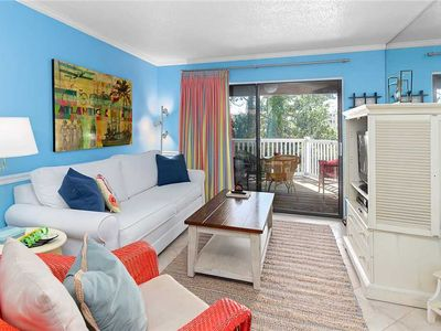 Photo for Two bedroom condo with a pool!