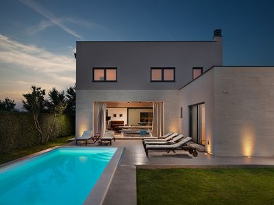 Photo for Modern Villa Julia, in Istria, with a Pool