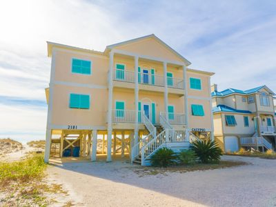 Photo for BEACH FRONT HOME just steps to the beach with Breathtaking views!