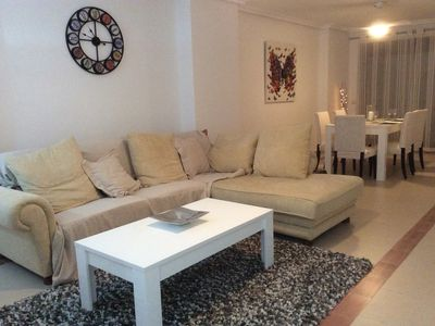 Photo for Trendy, contemporary apartment, with pool, for 4 in Puerto Banus, Spain