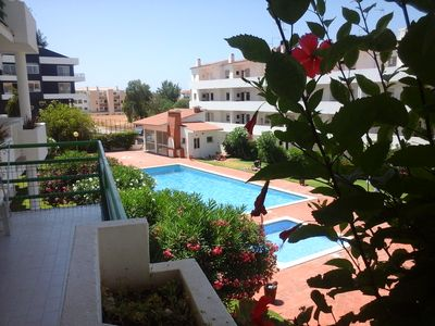Photo for 207 Central apartment 4 people with swimming pool Santa Eulália Albufeira.