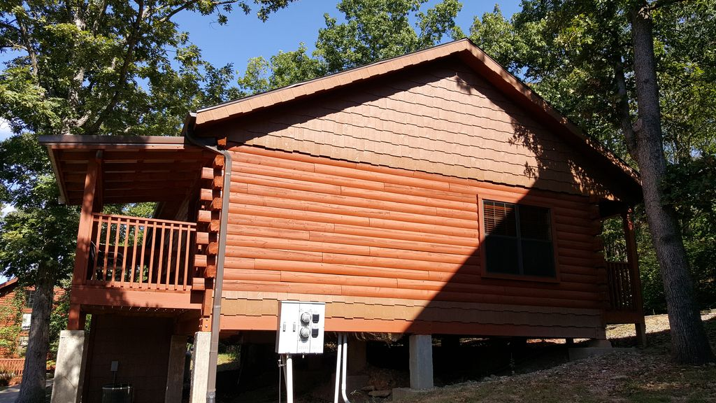 Beautiful Log Cabin At Cabins Of Grand Mountain In Branson
