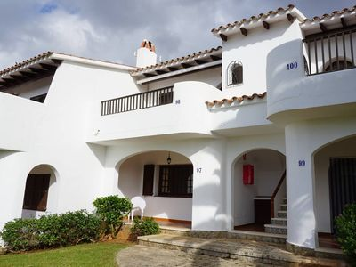 Photo for Bungalow / Apartment in Son Bou beach. Minorca