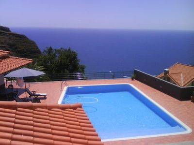 Photo for Luxury Villa with private pool and heated, beautiful ocean views and mountain