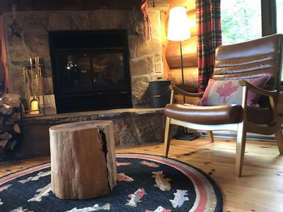 Photo for Mountain View Authentic Log Cabin