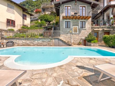 Photo for Modern Holiday Home with Swimming Pool in Gravedona