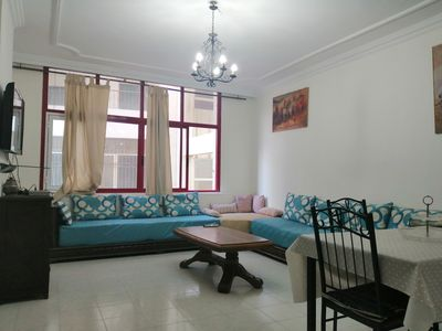 Photo for Cozy double-bedroom in the city center on the beach.