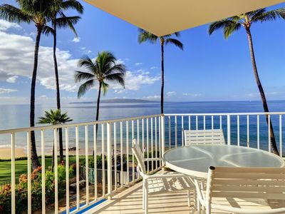 Photo for Perfect Oceanfront Location in Kihei! - Starts @ $295.00/nt - Kamaole Nalu #305