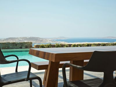 Photo for ~LUXURY VILLA ARIA in Mykonos 5 bedrooms 5 bathrooms PRIVATE POOL UP TO 9 GUESTS !