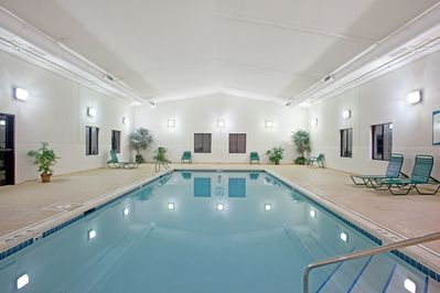 Enjoy the excellent on-site amenities including the indoor pool!