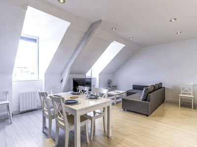 Photo for Apartment Rochebonne plage  in Saint Malo, Brittany - Northern - 4 persons, 3 bedrooms