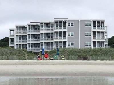 "Photo for DIRECT OCEANFRONT - 1 bedroom recently updated condo ""Little piece of paradise"""