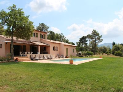Photo for Secluded Villa With Own Pool In Rural Setting Close To St Tropez
