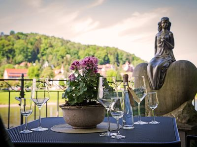 Photo for Holiday at the foot of the Bastei - directly on the Elbe