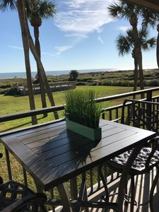 Photo for Beach Front Villa - Gorgeous Sunrise over the Ocean - Direct Ocean View #123