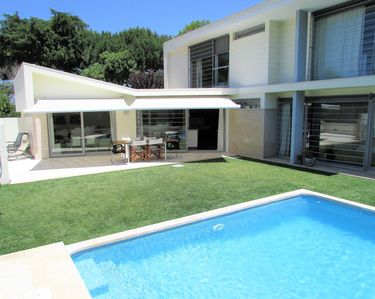 Photo for VILLA CASALINHO MECO in the pine forest, near the beach and Lisbon with private pool