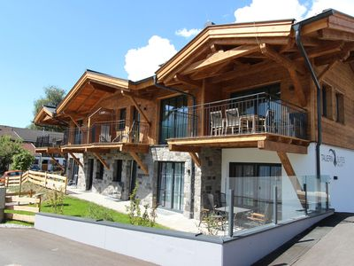 Photo for Stylish penthouse near Kaprun with wellness area