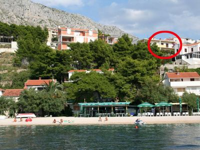 Photo for Apartment in Stanići (Omiš), capacity 4+3