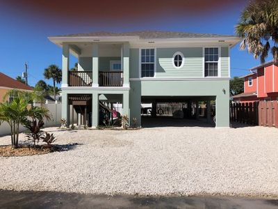 Photo for Modern Mid Island Paradise with Heated Pool and short walk to Fort Myers Beach