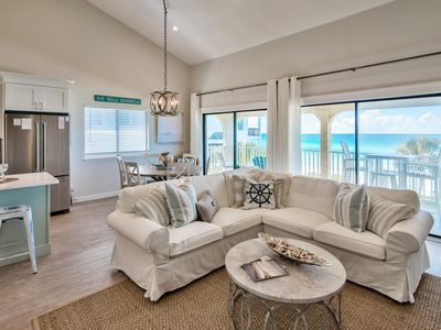 Photo for Gulf Front Penthouse Condo! Close to Alys and Rosemary 3br 3b Sleeps 8 on 30A