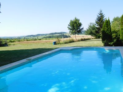 Photo for Comfortable house / studio in the countryside - swimming pool - nature