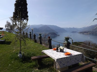 Photo for Varenna Castle House Garden Lake View