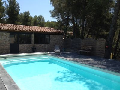 Photo for Large Provençal Villa with Heated Swimming Pool and Pine Forest of 1000 M2