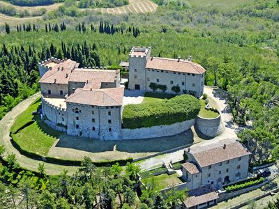 Photo for Castello di Montegiove restored Castle Olive Mill, Leccino