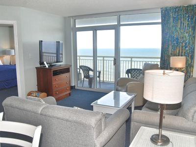 Photo for Baywatch Unit 1405-  OCEANFRONT WITH BEAUTIFUL VIEWS FROM MASTER BEDROOM!!!