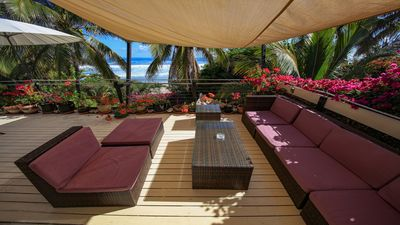 Photo for 4-room apartment directly on the beach in Saint-Gilles-les-Bains, Réunion Island