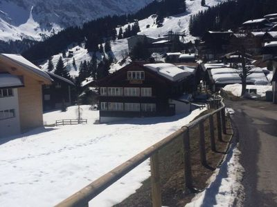 Photo for Apartment Chalet Alpenblick in Mürren-Gimmelwald - 4 persons, 2 bedrooms