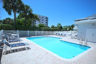 The Beach is just across from our pool!