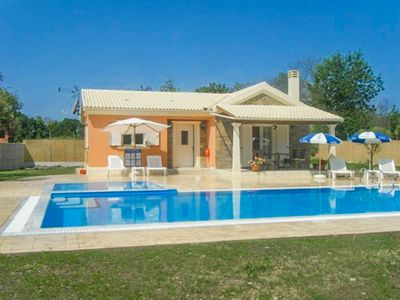 Photo for Villa Popi: Large Private Pool, Walk to Beach, A/C, WiFi