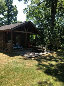 Photo for Secluded cabin in wine country - Pet friendly glamping, with breakfast included!