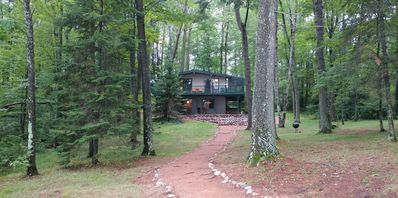 Photo for Pinewood - Hiller Vacation Homes - Private Setting - 215 Feet of Frontage
