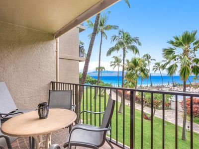 Photo for K B M Hawaii: Ocean Views, Kaanapali Shores Stunner! 2 Bedroom, FREE car! Jul & Sep Specials From only $189!