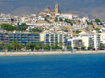 Photo for flat ALTEA (Alicante), penthouse 4 Persons, 3 CH, 2 bathrooms, 1 toilet cabinet