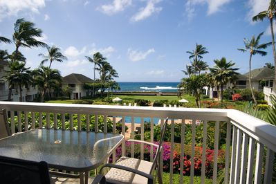 Oceanview from Lanai (deck)