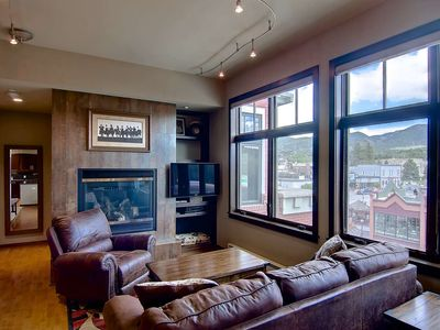 Photo for Early Ski Season Deals! 1/2 Block Off Main St!, Amazing Views, Free Bus, Decks, Elevator, Top Floor