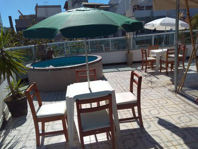 Photo for Penthouse with 250 m with large free area in Jardim da Penha