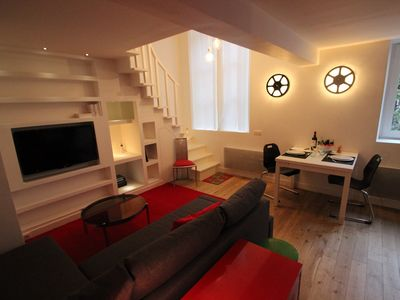 Photo for The Canal Saint Martin Duplex - PEB - One Bedroom Apartment, Sleeps 4