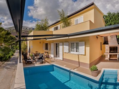 Photo for Villa Le Lu in Žrnovnica; Outstanding villa with the pool