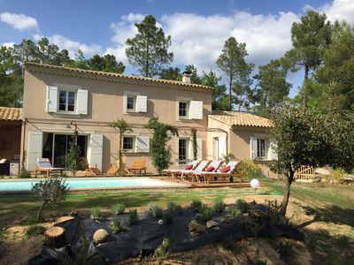 Photo for BEDOIN - Charming Bastide at the foot of Mont Ventoux -Private pool - wifi