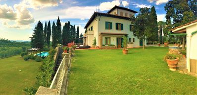 Photo for SPECIAL OFFER OCTOBER 2019- Villa, Chianti ,8 BR-9 BA, pool,  Florence