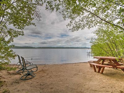 Photo for Lakefront Ossipee Cottage w/Screened Porch & Deck!