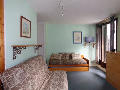 Photo for LARGE STUDIO 27m WITH ACCESS UNDERGROUND PARKING, VIEW MONT BLANC ANIMALS ALLOWED