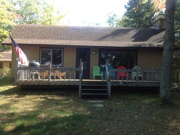 Northeast Michigan Lake Front Cabin (Pet Friendly)