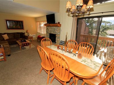 Photo for Mammoth Ski and Racquet #87, 1 Bedroom + Loft, 2 Full Bathrooms Fully Furnished Condo